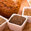 Spices for bread baking — Stock Photo