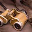 Old military binoculars — Stock Photo #32815421