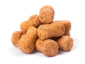 Wine corks isolated — Stock Photo