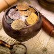 Treasure pot — Stock Photo #36119925