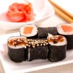 Japan sushi rolls — Stock Photo #38517775