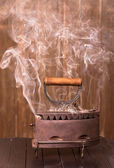 Smoke iron — Stockfoto