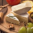 Sliced brie cheese — Stock Photo #43767137