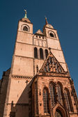 Church of Saint Jochannis, Jochanniskirche, Magdeburg, Germany — Stock Photo