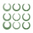 Royalty-Free Stock Imagen vectorial: Laurel wreaths
