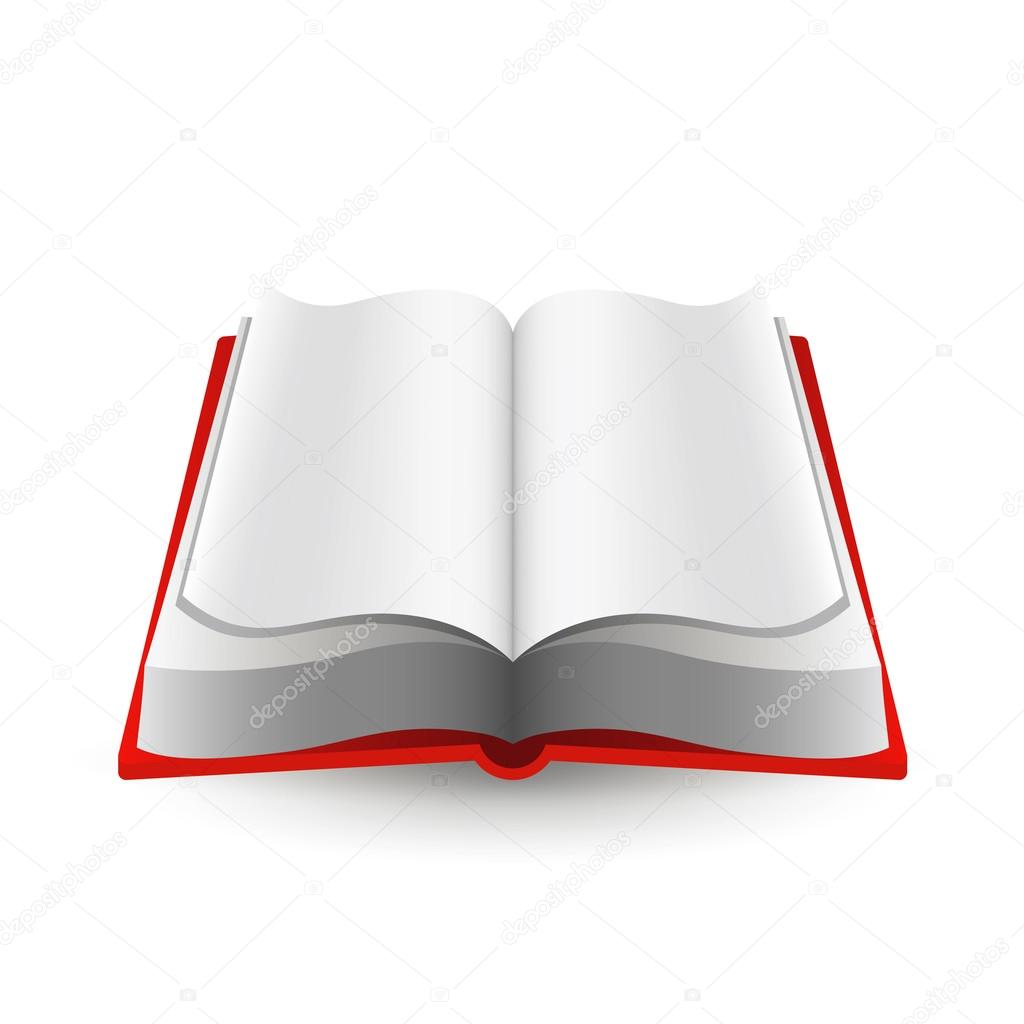 书本造型矢量,书本矢量图,书本翻开矢量图_点力图库