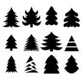 圣诞树木 — 图库矢量图片