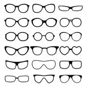 Glasses vector set. — Stock Vector