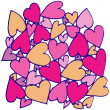 Hand drawn abstract heart — Stockvector #37784683