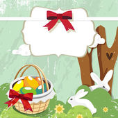 Easter day card or background — Stock Vector