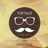 Hipster background — Stock Vector