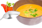 Bowl of soup — Stockfoto