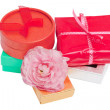 Stock Photo: Colorful gift set