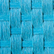 Blue straw cloth texture — Stock Photo