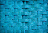 Textured background of blue straw — Stock Photo