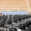 Open air concert hall with amphitheater — Stock Photo