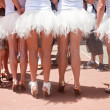 Pride Parade participants dressed up as ballet dancers — Stock Photo