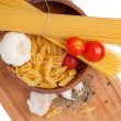 Stock Photo: Kitchen board with pastingredients
