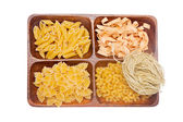 Pasta and spaghetti — Stock Photo