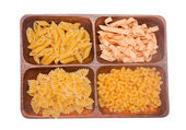 Various sorts of pasta — Stock Photo