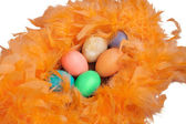 Bunch of Easter eggs — Foto Stock