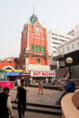 Clock tower of the historical building in Kolkata — Stock Photo