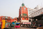 Historical building New Market in Kolkata — Stock Photo