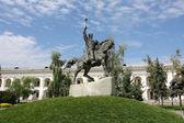 Monument of Hetman of Cossacks — Stock Photo