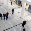 Walk inside the biggest shopping mall — Stock Photo