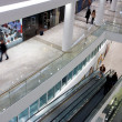 Customers on levels of shopping mall — Stockfoto #21916589