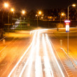 Modern city highway at night. — Stock Photo
