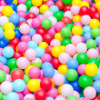 Royalty-Free Stock Photo: A lot of coloured plastic balls in playroom