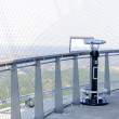 Coin operated panoramic telescope on TV-tower — Stock Photo #25657457