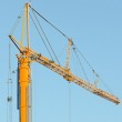 Crane on construction site. — Stock Photo