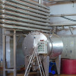 Modern wine manufacturing equipment — Foto de Stock