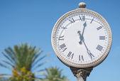 Stare miasto zegar. — Zdjęcie stockowe