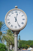 古い町の時計. — ストック写真