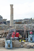Archaeological Excavations at the site. — Stock Photo