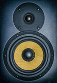 Professional music studio monitor. Close-up. — Zdjęcie stockowe