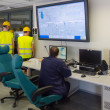 Workers in thermal plant's control room. — Stock Photo #46881741