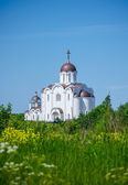 The Orthodox church in summer day. — Stock Photo