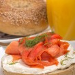 Freshly baked bagel — Stock Photo #41032831