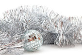 Christmas glassy ball — Stock Photo
