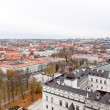 Top view of Vilnius — Stock Photo