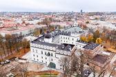 Vilnius aerial view — Stock Photo