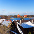 View over the Trakai Castle — Stock Photo