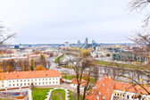 View of Vilnius and the River Neris — Stock Photo