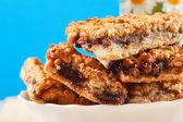 Kruimelig shortbread koekjes — Stockfoto