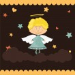 Royalty-Free Stock Vector Image: Cute little angel