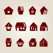 Vector houses — Stock Vector #18475623
